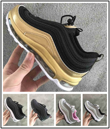 nike air max airmax 97 Niños 2018 zapatos niños Zapatillas Boy Girl Toddler Youth 2019 plus tn 97 Trainer Cushion Surface Zapatillas deportivas transpirables desde fabricantes