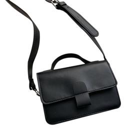 Retro Oil Skin Small Square Bag Fashion New Handbag Shoulder Bag Messenger  Simple Trend Wild Handbag d6bb8057e9