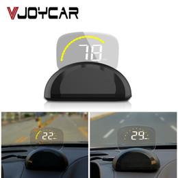 trattore digitale universale per auto Sconti ead-Up Display nuovo GPS + OBD2 del sistema Dual Car HUD Head Up Display auto universale GPS tachimetro Dash Board Computer Specchio Digital Proje ...