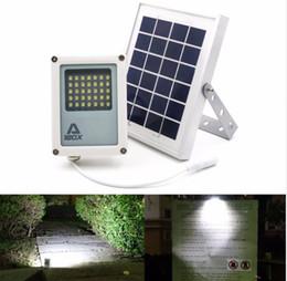 mini luce di inondazione Sconti Mini Alpha 180X 35LED 60-230LM 3 Modalità di alimentazione 5 Metri Cavo Esterno Giardino Metallo Solar Powered LED Flood Light LLFA