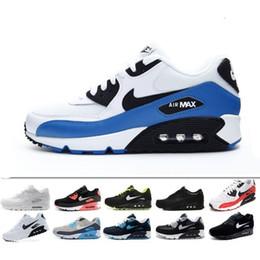 the best attitude e0f8f f93e8 Nike air max 90 airmax Design 2019 Air Cushion 90 Casual Running Hommes Femmes  Chaussures Pas Cher Noir Blanc Rouge 90 Baskets Classique Air90 Trainer ...