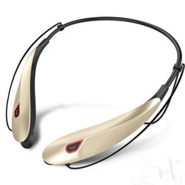 Manos libres manos libres mp3 player online-CSR inalámbrico cuello montado auriculares estéreo Bluetooth auriculares música auriculares activados por voz cuello colgando manos libres auriculares reproductor de medios MP3
