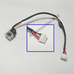 YENI Laptop DC Güç Jack kablosu ile Lenovo Z380 Z385 DC Konektörü Dizüstü Soket Güç Değiştirme nereden