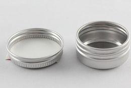 Deutschland Neue Ankunft 2000pcs Datum 5g 5ml leerer kosmetischer Jar Lippenbalsam Container Töpfe Aluminium Tins Versorgung