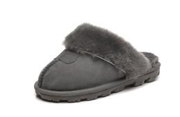 Pantofole di cotone calde di alta qualità Pantofole per uomo e donna Stivali corti Stivali da donna Stivali da neve Designer Pantofole di cotone per interni Stivali di pelle da