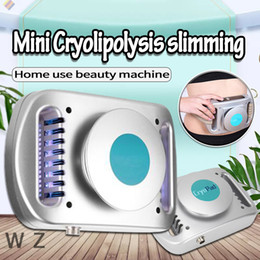 shaper d'occasion Promotion Nouvelle version Mini CryoPad Portable Home Use Cryo Graisse Gel Machine Lipo Minceur Machine Body Shaper Minceur Machine DHL