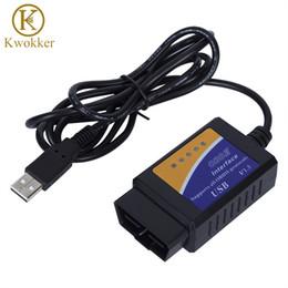 Freeshipping цена по прейскуранту завода-изготовителя OBD / OBDII сканер ELM 327 диагностический интерфейс автомобиля инструмент сканирования ELM327 USB поддерживает все протоколы OBD 2 Diag инструмент от Поставщики digiprog toyota