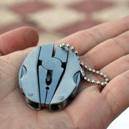 Pocket Multitools Pinza 1pz Outdoor Mini portatile pieghevole Muilti-funzionale pinza morsetto portachiavi campeggio strumento di escursionismo da utensile per tagliare la bottiglia fornitori