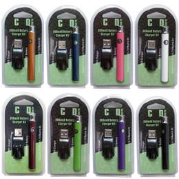 2019 batteria della penna a vape variabile della vape Pen Vape Hottest Vertex Tensione variabile VV Preriscaldare batteria 350mAh kit di tensione regolabili Per 510 Batterie discussione cartucce vaporizzatore batteria della penna a vape variabile della vape economici