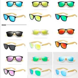 e6322a30d81f3e 2019 Sommer Retro Vintage Bambus Sonnenbrille Holz Beine Sonnenbrille  Frauen Männer Teenages Strand Outdoor Sports Farbige Polarisierte Gläser  A41906 ...