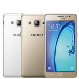 téléphone intelligent déverrouillé Promotion D'origine Samsung Galaxy ON5 G5500 G550T 4G LTE Quad Core 1,5 Go 8 Go de RAM ROM double carte SIM téléphone Android remis à neuf