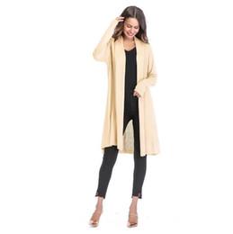 vestidos de maternidade elegante outono Desconto 2019 Roupa de Outono Inverno de malha de maternidade Sweaters Roupas para mulheres grávidas queda casaco Camisolas Gravidez elegante