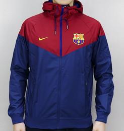 roupa casual de futebol Desconto Jaquetas de Marca dos homens Roupas Colorblock Jaqueta para Homem Casual Zipper Blusão Famaous Futebol Hoodies Primavera