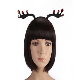 Mode Femmes Filles Belle Elk Horn Cerceau De Cheveux Headpiece Prom Cerfs Oreilles Tête Bandes Bijoux Pour Femmes Tête Accessoires ? partir de fabricateur