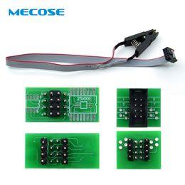 2019 programmateur flash usb Nouveau Clip de test SOIC8 SOP8 pour EEPROM 93CXX / 25CXX / 24CXX + CH341A, module de programmation USB Flash EEPROM série 24 25 programmateur flash usb pas cher