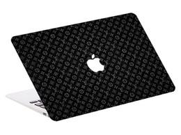 """Macbook pro 13 caso completo online-Full Flower Macbook Sticker Case Protector Apple New Air 13.3 """"Pro 13"""" 15 """"Protector de computadora Logotipo popular Protectores de piel"""