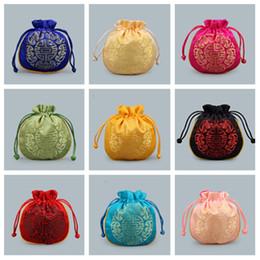 Sacos de armazenamento chineses on-line-hot chinese-17 estilo saco de cordão, embalagem de presente de casamento, bolsas de jóias bolsas, saco de armazenamento, papel de embrulho T2C5021