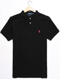 Commercio all'ingrosso 22COLOR 100% cotone UOMO estate vendita calda Polo Shirt Stati Uniti d'America bandiera Polo uomini manica corta Polo Sport 309 # Man Coat da manicotto all'ingrosso della bandiera americana fornitori