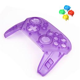 Pour Nintendo Switch Pro Contrôleur Remplaçable Transparent Shell DIY Modifié Shell Tierce Partie Remplacement Boutons Poignées Couvrent ? partir de fabricateur