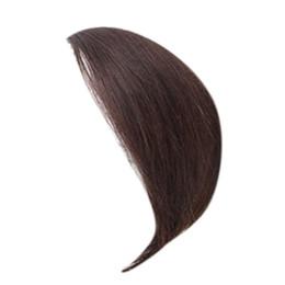 Cabelo humano franja apliques de lado lateral varreu bang franja extensões (3cm, marrom) supplier fringe hairpiece de Fornecedores de peruca de franja