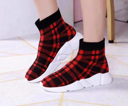 Meias de cowboy on-line-Luxo New Womens Collecta tornozelo manta Cowboy Winter Fashion Sports Sock-como booties High Top Tamanho 35-40