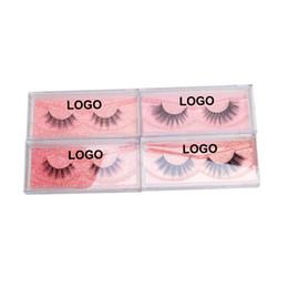 Меховые полоски онлайн-Big Eye's Secret 10 Pairs 3D Strip Lashes Natural  3D Silk Fur Lashes Make Up Tools Private Logo False Fake