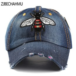 09626a7a5f5 ZJBECHAHMU Hats Fashion Vintage Denim Solid Animal Baseball Caps Summer Hip  Hop Cap For Men Women For Women Girl Snapback Hat  220192