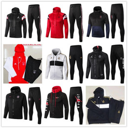champion hoodies Coupons - 2019 2020 psg Real Madrid chandal futbol soccer jacket hoodie Champions League Survetement MBAPPE football tracksuit training suit