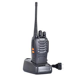 2019 auriculares pola motorola Nuevo BF-888S Baofeng Walkie Talkie 5W Radio bidireccional UHF 400-470MHz Frecuencia portátil Pofung Rentable
