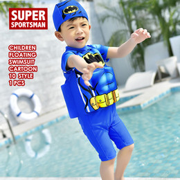 2f4c41448a Baby Boys Cartoon Floating Rashguard Kids Surfing Swimsuit Children Surf  Swimwear Toddler Girls Swimming Bathing Swim Suit Beach