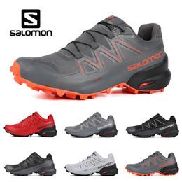 Scarpe sportive mens impermeabili online-New Salomon Speedcross 5 CS uomo donna Scarpe da corsa di alta qualità mens scarpe da ginnastica impermeabile sportivo atletico scarpe da ginnastica jogging escursionismo