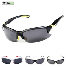 ciclo óculos preto amarelo Desconto WOSAWE bicicleta Ao Ar Livre Óculos de bicicleta de montanha equitação óculos óculos polarizados óculos de pára-brisa UV made in china boa marca
