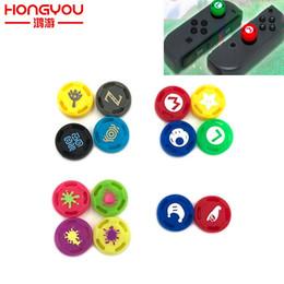 Deutschland Für Zelda Silikon Analog Thumb Stick Griffe Caps für Nintend Switch NS JoyCon Controller Sticks Cap Haut für Joy Con Cover Versorgung
