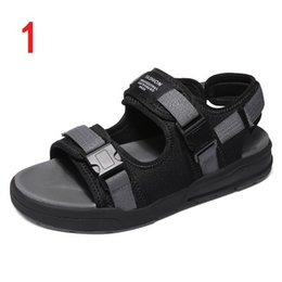 6f097b8c94d men Summer Sandals MULTICOLOR Anti-slipping Quick-drying Outdoor slippers  Soft Water Shoes Beach Sandals affordable green cross men sandals