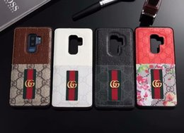 Canada Cas de téléphone de luxe pour Samsung Galaxy S10 S10plus S9 S8 Note9 8 en cuir Bee Snake Motif Designer Designer Étui de téléphone pour iPhone X Xs Max 8 Plus supplier snake iphone case Offre