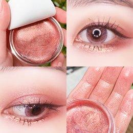 Гели для век онлайн-Макияж Профессиональный 3D Блеск Liquid Eye Shadow Eyes 7 цветов Eyeshadow Блеск Гель Косметика Shimmer Liquid Eyeshadow Гелевые