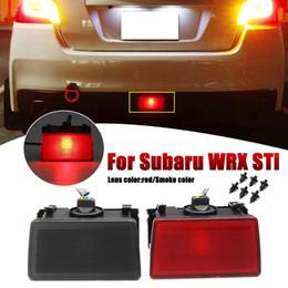 Kit luce retronebbia online-Luci di stop posteriori a 2 funzioni 18LED fendinebbia kit di copertura colore rosso chiaro / fumo per WRX STi Impreza XV Crosstrek