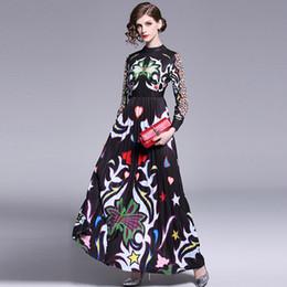 2a19071c779144d 8 Фотографии Красивые длинные платья женщины для продажи-Модные новые  женские длинные платья, красивое печатное весенне