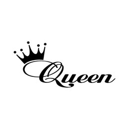 2019 u finestre Queen Crown Window Vinyl Decal Sticker Car Truck Girly Love Any Color U Come adesivi per auto sconti u finestre