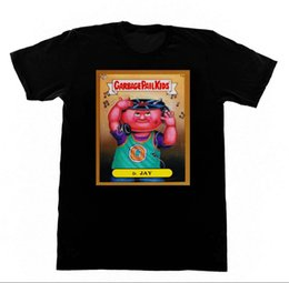 shrink toys Promo Codes - Garbage Pail Kids DJ - Shirt 11 Tshirt Trading Cards 80s Toys Trump sweat sporter t-shirt