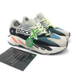 sapatos de luxo para homens Desconto 2019 Top quality 700 sneakers com estoque X designer de luxo mens sapatos unisex mulheres formadores 700 runner shoes