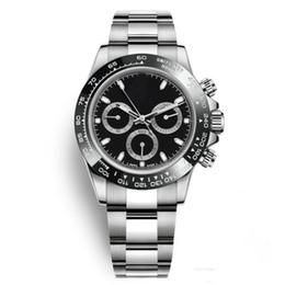 vente en gros d'acier à vendre Promotion Mode Montres Hommes En Acier Inoxydable Casual Lunette En Céramique Montres En Gros Auto Date Hommes Robe Montre Vente Chaude Horloges Masculines Cadeau Reloj Date