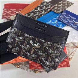 2019 titolare del controllo di affari 2019 Nuovi uomini DONNE Fashion Design classico Casual sacchetto di carta Titolare Portafoglio di carta di qualità in pelle ultra sottile per Mans / Womans