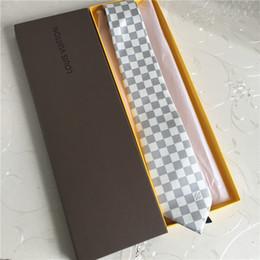 schwarze krawatte orange streifen Rabatt 15 Farben Großhandel brandneue Luxus Designer Seidenkrawatte Boutique Krawatte Casual Business Krawatte 7,5 cm Originalverpackung Box