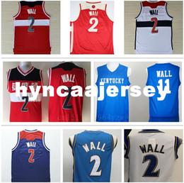 c6f3638eea 2019 jerseys baratos baratos del deporte John Wall 2 Kentucky Wildcats  College Basketball Jerseys Barato John