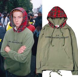 Хай-стрит Бибер дедушка с тем же типом хип-хоп шотландский плед с капюшоном цвет кольцо волосы свитер куртка дизайнер рубашки поло Мужчины от
