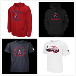 t shirt impression houston  Promotion Phillip Walker Houston Roughnecks XFL Football Jersey Pull À Capuche Connor Cook Kyle Hicks Andre Williams Nick Holley T-shirts imprimé hommes