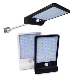 La nueva energía solar online-Lo nuevo 450LM 36 LED Luz de calle con energía solar PIR Lámparas con sensor de movimiento Jardín Lámpara de seguridad Calle exterior Luces de pared a prueba de agua