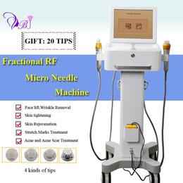 Maquina de radio frecuencia profesional online-Thermage fraccional máquina de elevación de la piel en casa Remover arrugas fraccional rf máquina de microagujas profesional rf radio frecuencia cuidado de la piel
