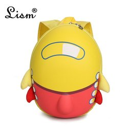 rocket baby toy Coupons - Lovely Cartoon Big Backpack For Kids Boys Girls 3D Rocket School Bag Baby Toy Kindergarten Children Bookbag Travel Accessories 2